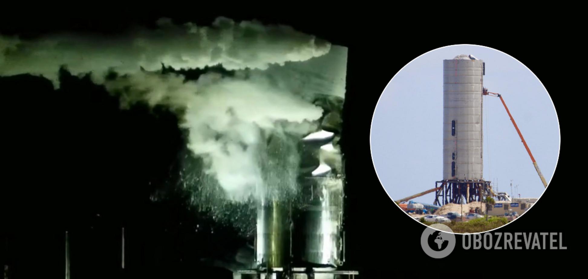 Космический корабль Маска полностью разрушился при запуске. Видео