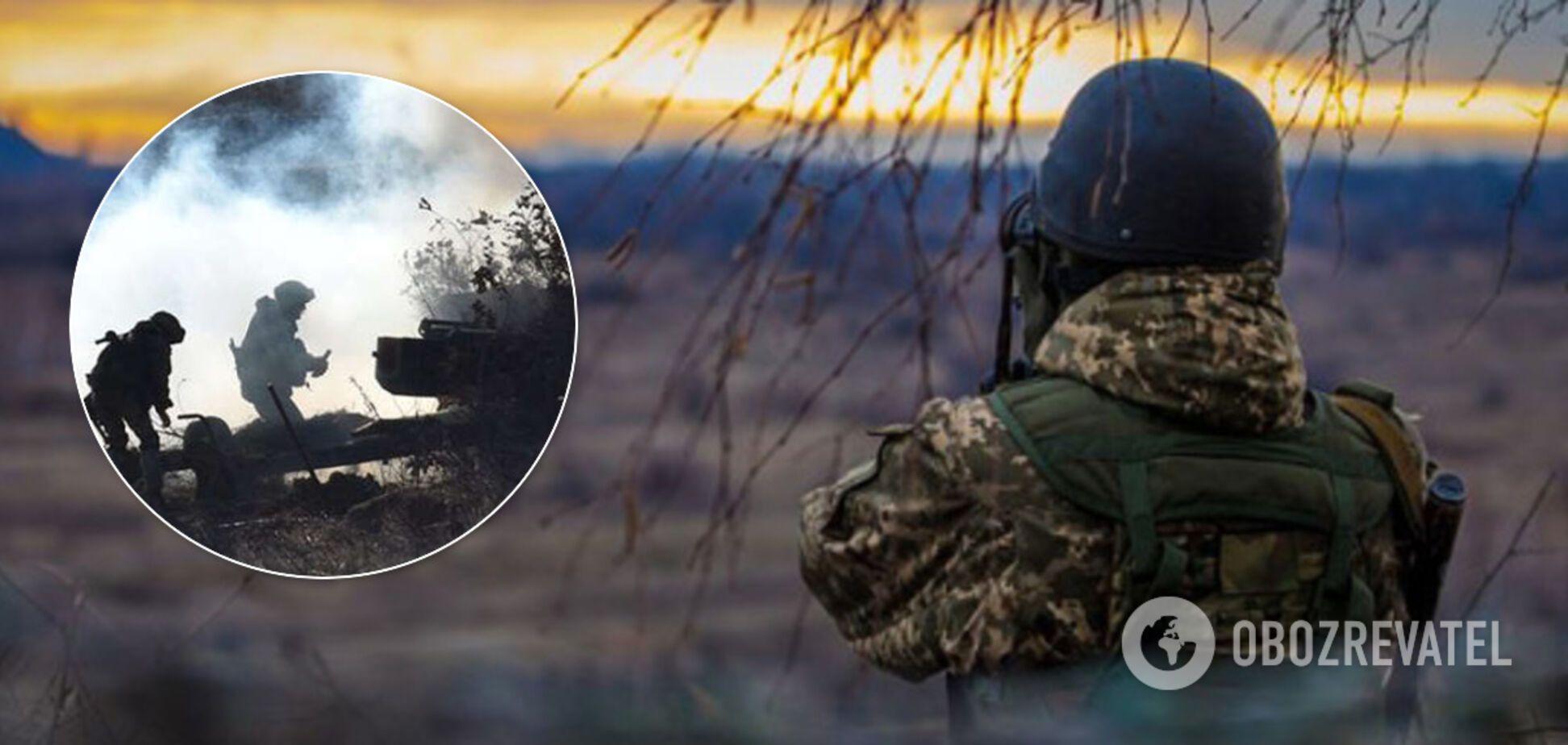 Террористы открыли огонь по ВСУ на Донбассе