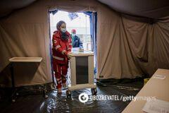 Тела в мешках складируют на полу: опубликовано жуткое видео из эпицентра COVID-19 в Италии
