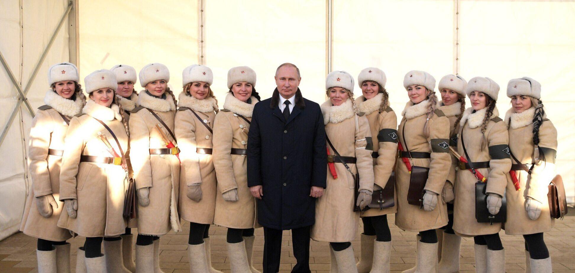 Топ-5 фото Путина, на которых его 'подставили' с маленьким ростом
