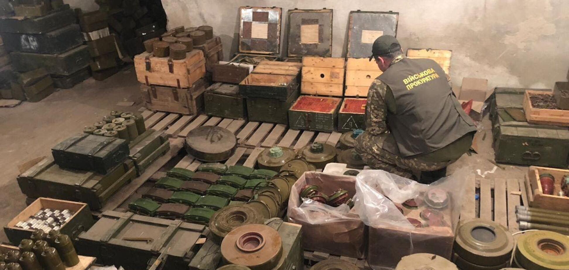 Штаб ООС звинуватив Офіс генпрокурора в поширенні фейку щодо складів із боєприпасами