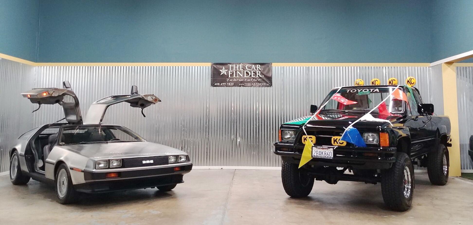 Автомобілі з 'Назад в майбутнє' продають з аукціону: варто поквапитися