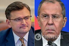 Кулеба обратился к Лаврову по поводу заложников и Донбасса