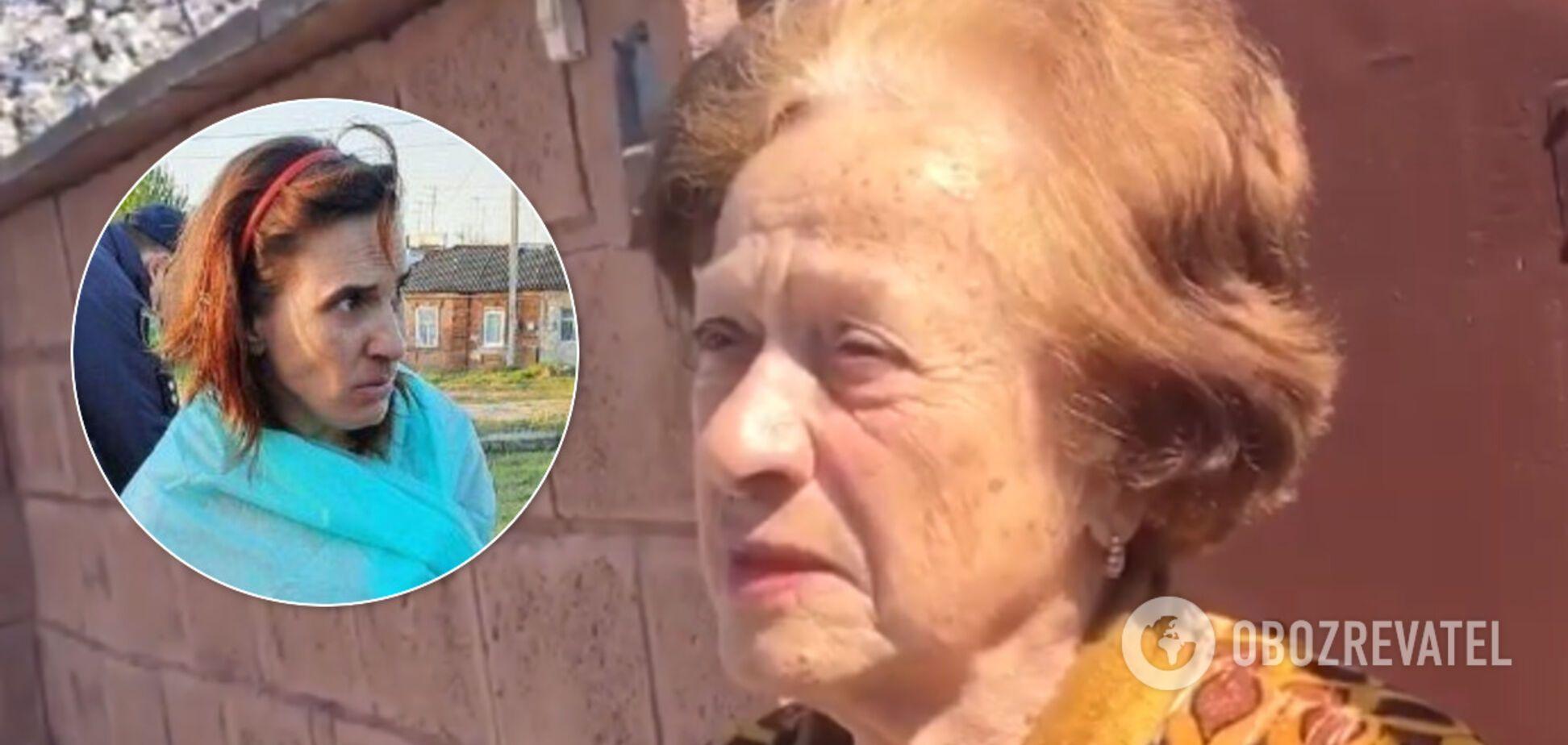 'Всю ночь лаяли собаки': соседка рассказала о женщине, отрезавшей голову дочке в Харькове