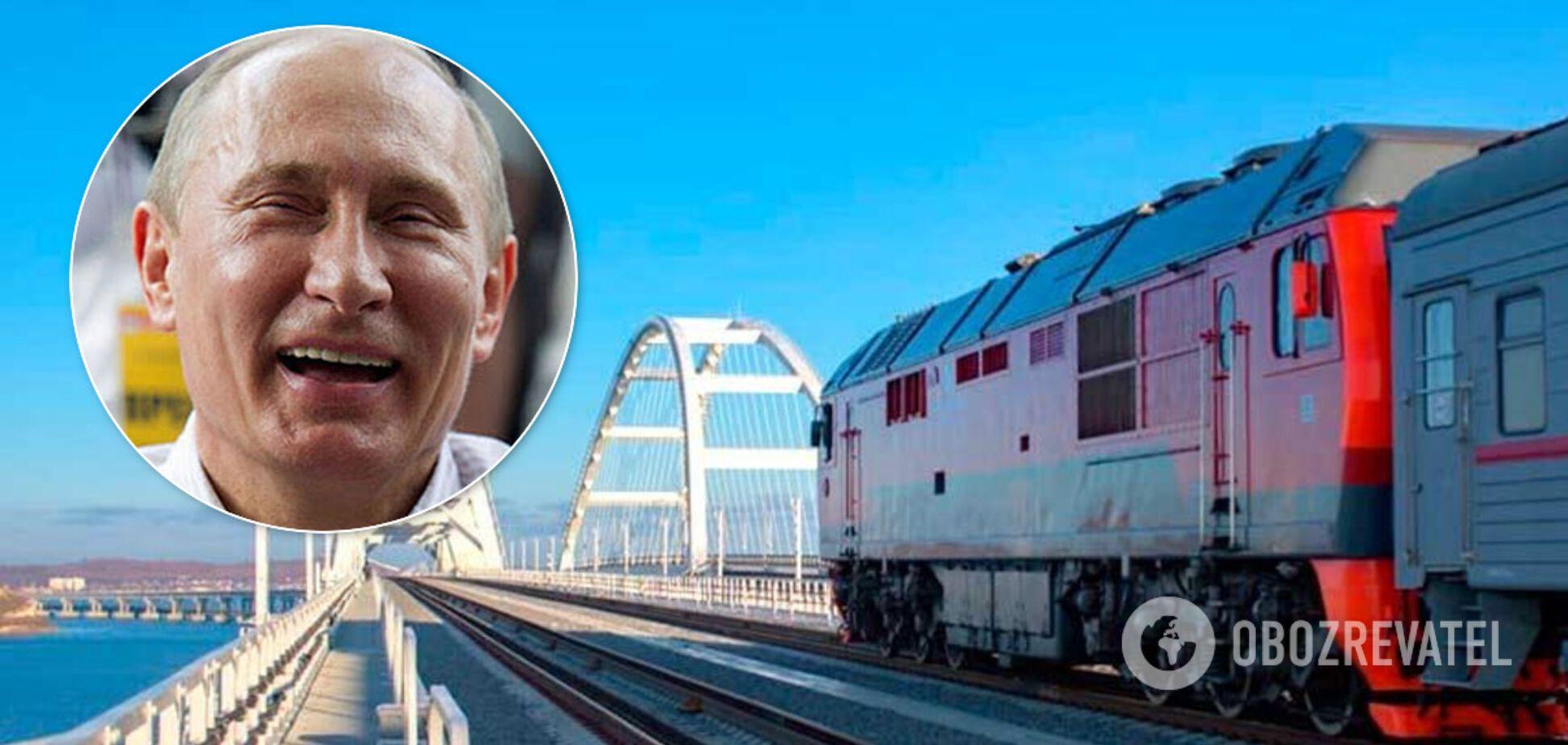 Британия ввела санкции против строителей Крымского моста