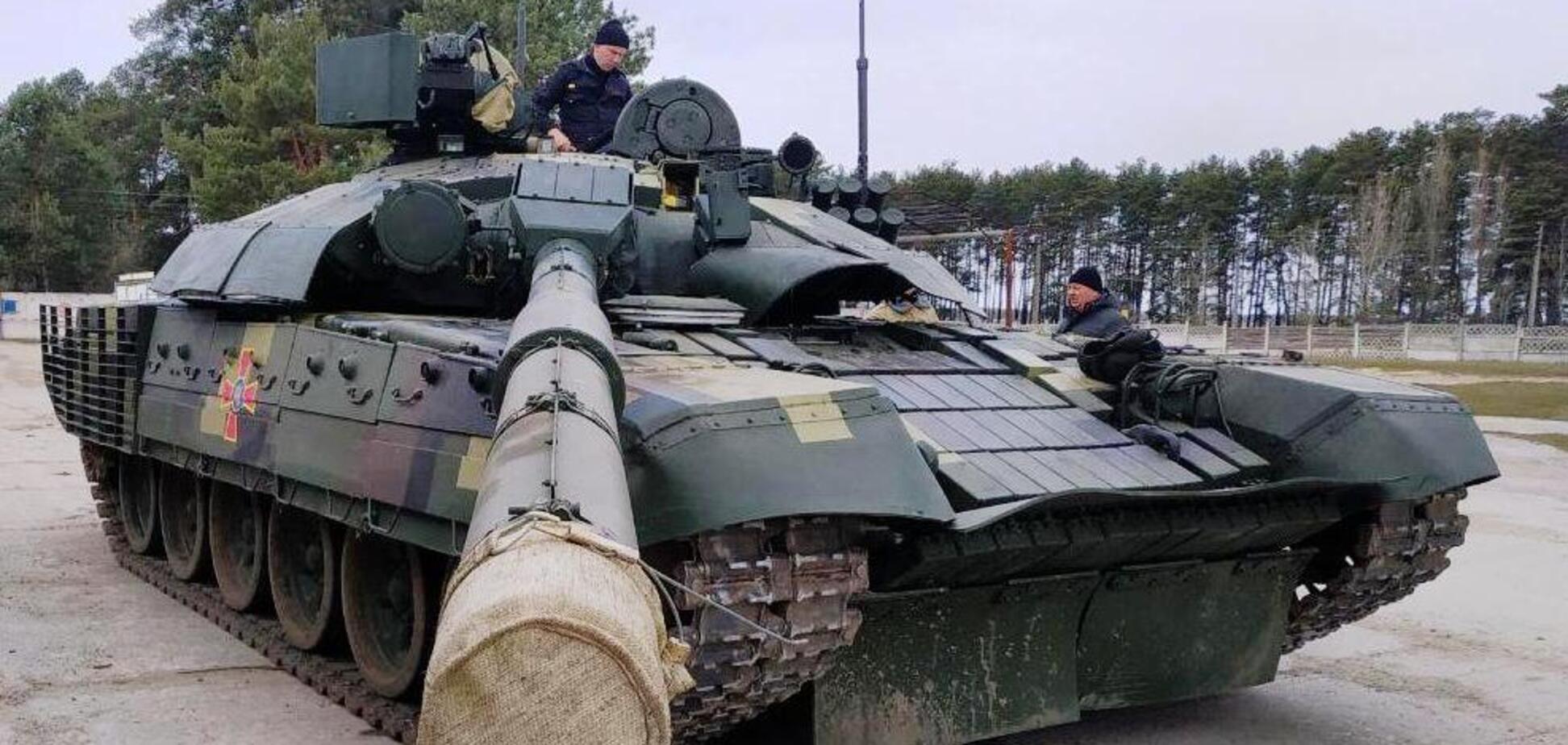 На Чернігівщині проходить випробування модернізований Т-72