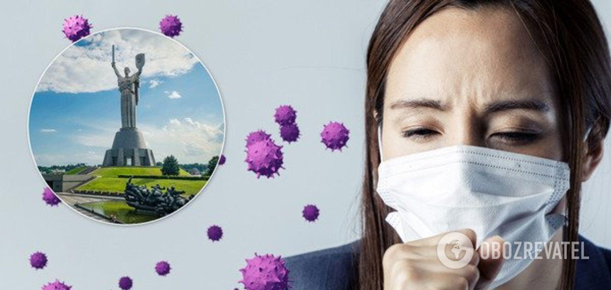 В Киеве количество зараженных коронавирусом перешло отметку в 8,6 тысячи человек