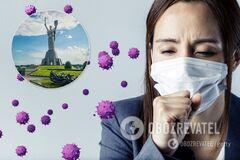 У Києві кількість заражених коронавірусом перейшла позначку у 8,6 тисячі осіб