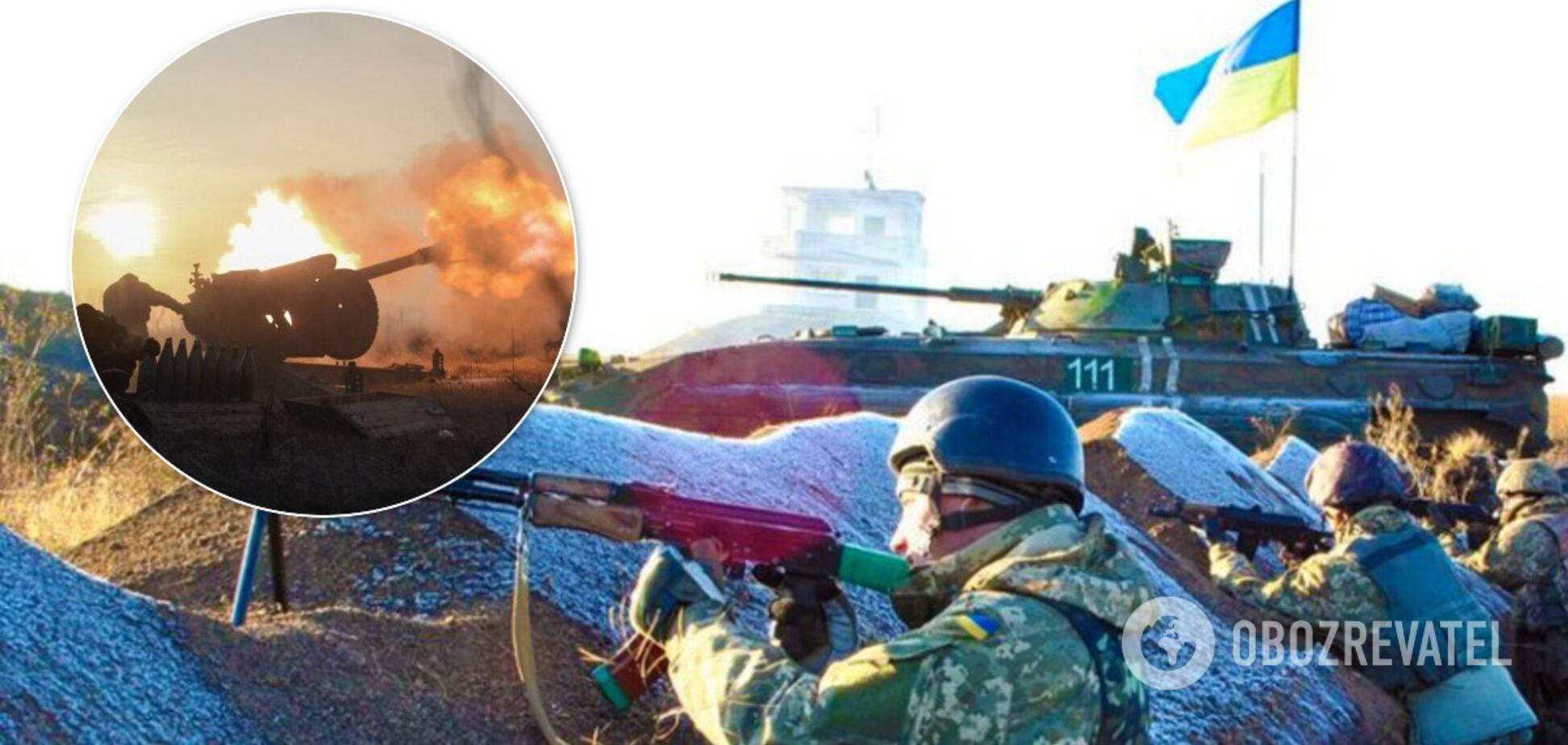 Найманці Росії вночі напали на ЗСУ на Донбасі
