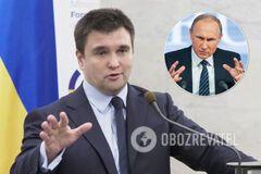 Павел Климкин заявил, что Владимир Путин намеренно устраивает эскалацию на Донбассе