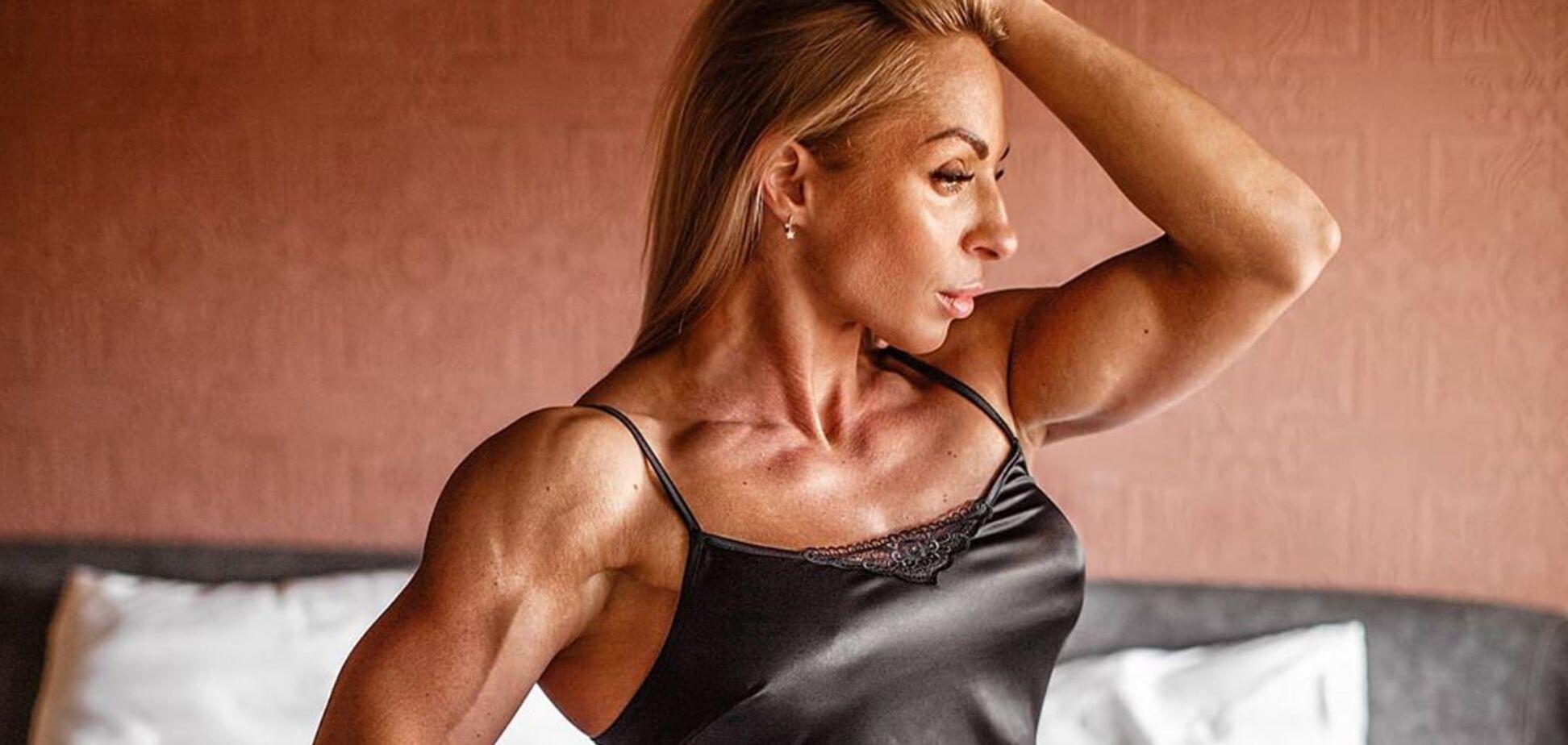 Російська чемпіонка з фітнесу Лариса Савельєва знялася оголеною
