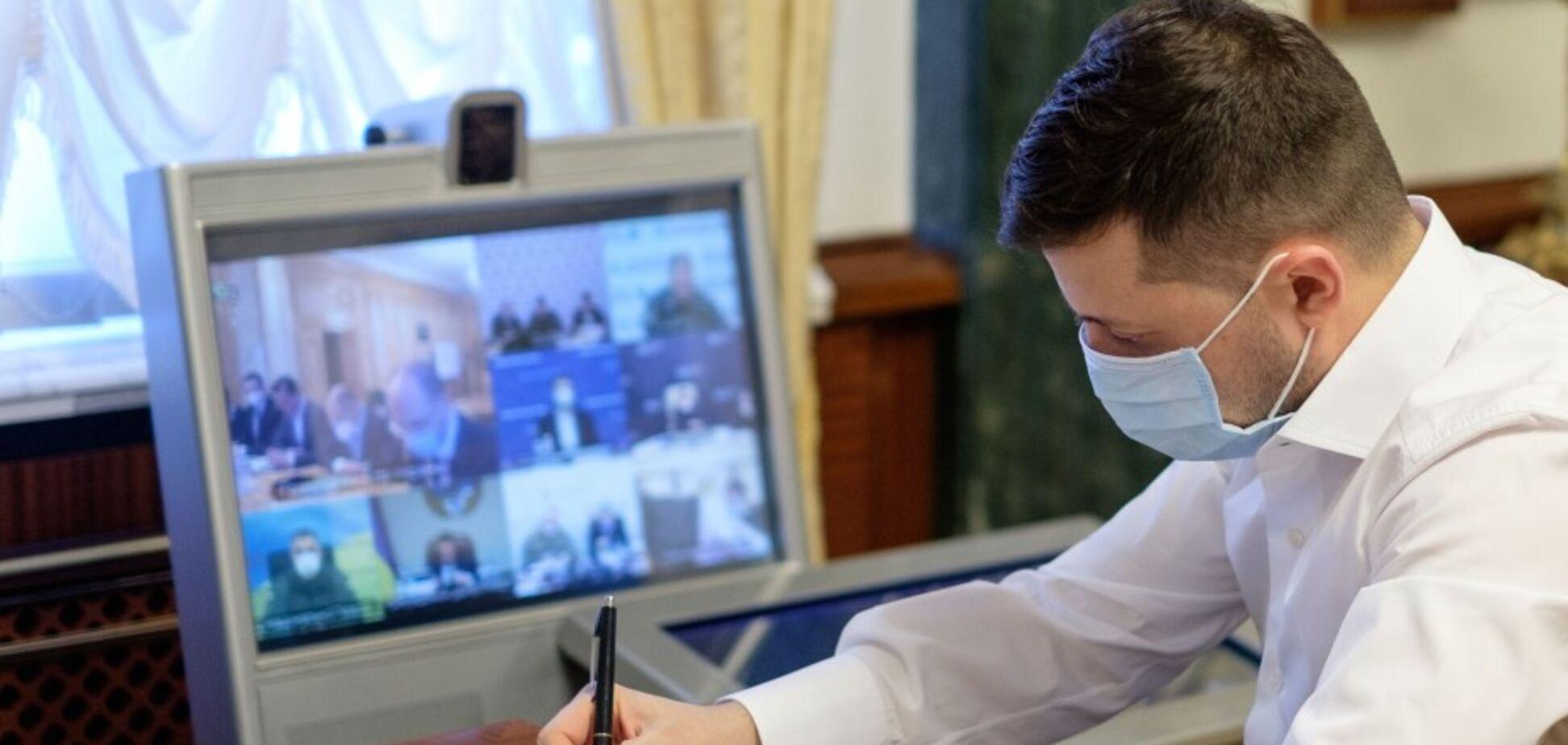 'Могло бы быть, как в Европе': Зеленский назвал первые позитивные результаты карантина в Украине