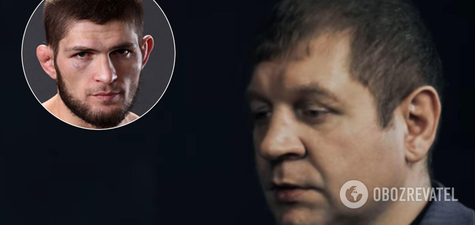 'Всім все одно': Ємельяненко відреагував на відмову Хабіба від бою з Фергюсоном
