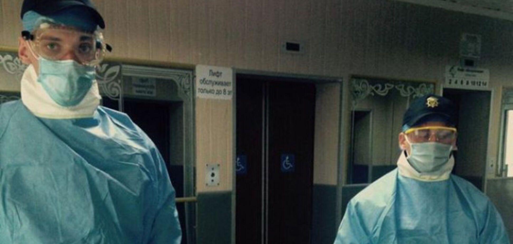 В Одессе Нацгвардия охраняет санаторий, где проходит обсервация граждан