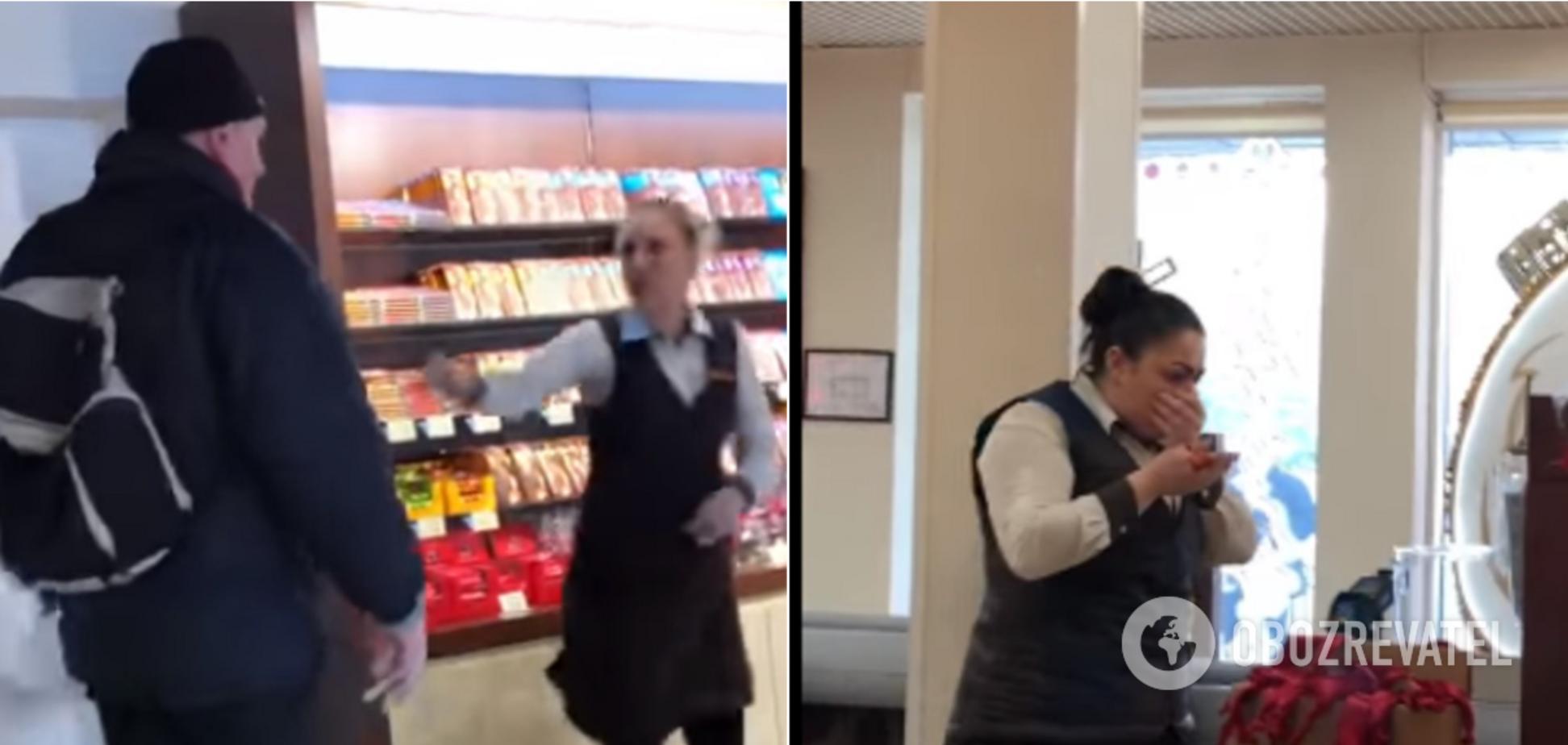 У Києві чоловік напав на працівниць магазину