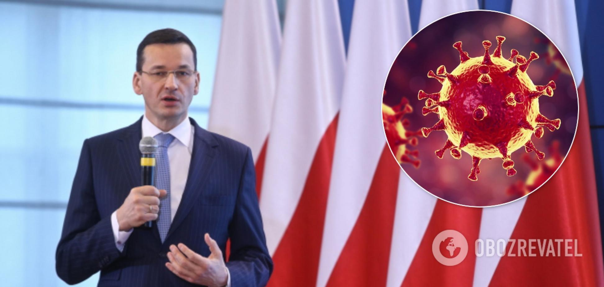 В Польше считают, что пик COVID-19 припадет на май-июнь