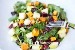 Салат из запеченных овощей от Марко Черветти