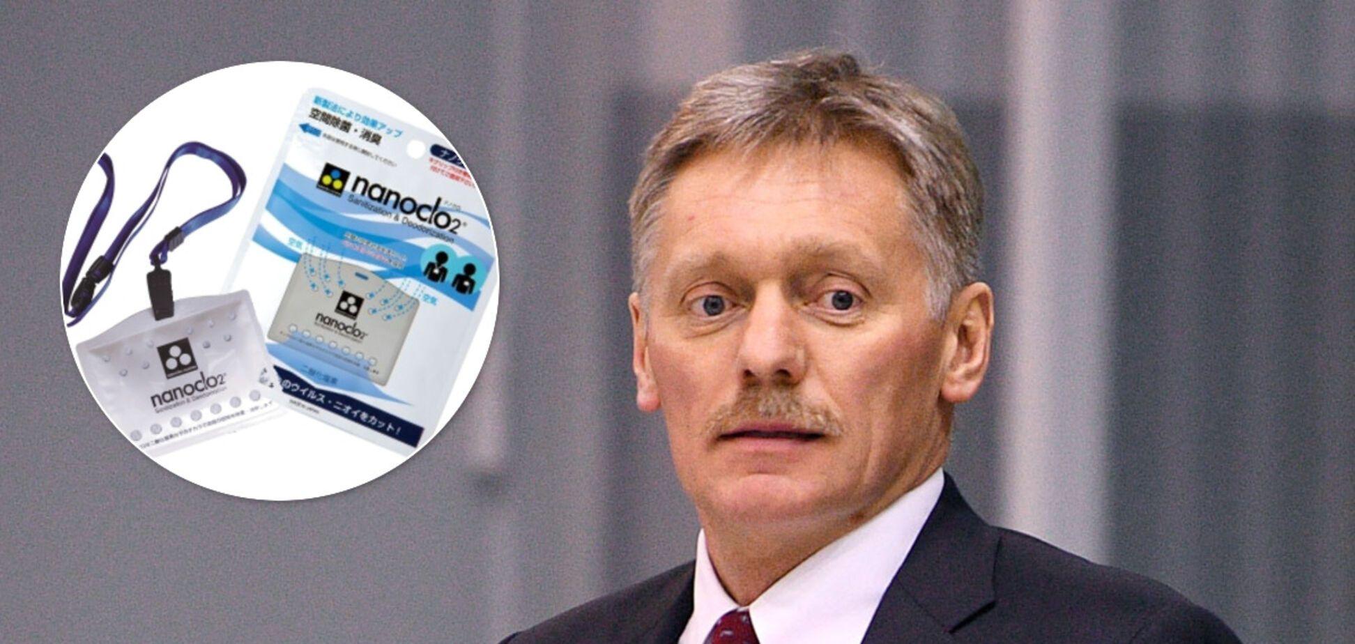 Песков купил блокатор вирусов против COVID-19