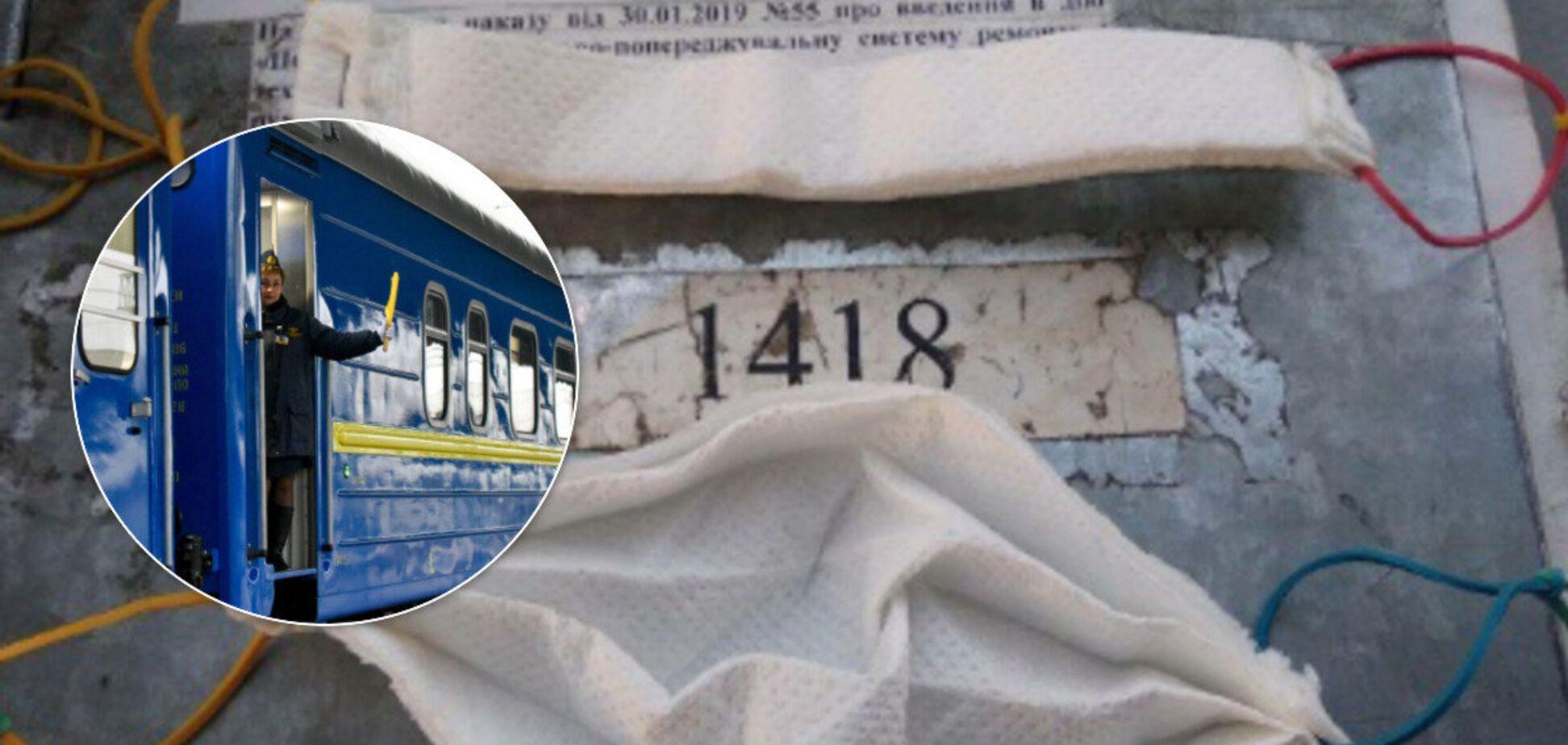 Врача разозлили маски из салфеток в 'Укрзалізниці': скандал получил продолжение
