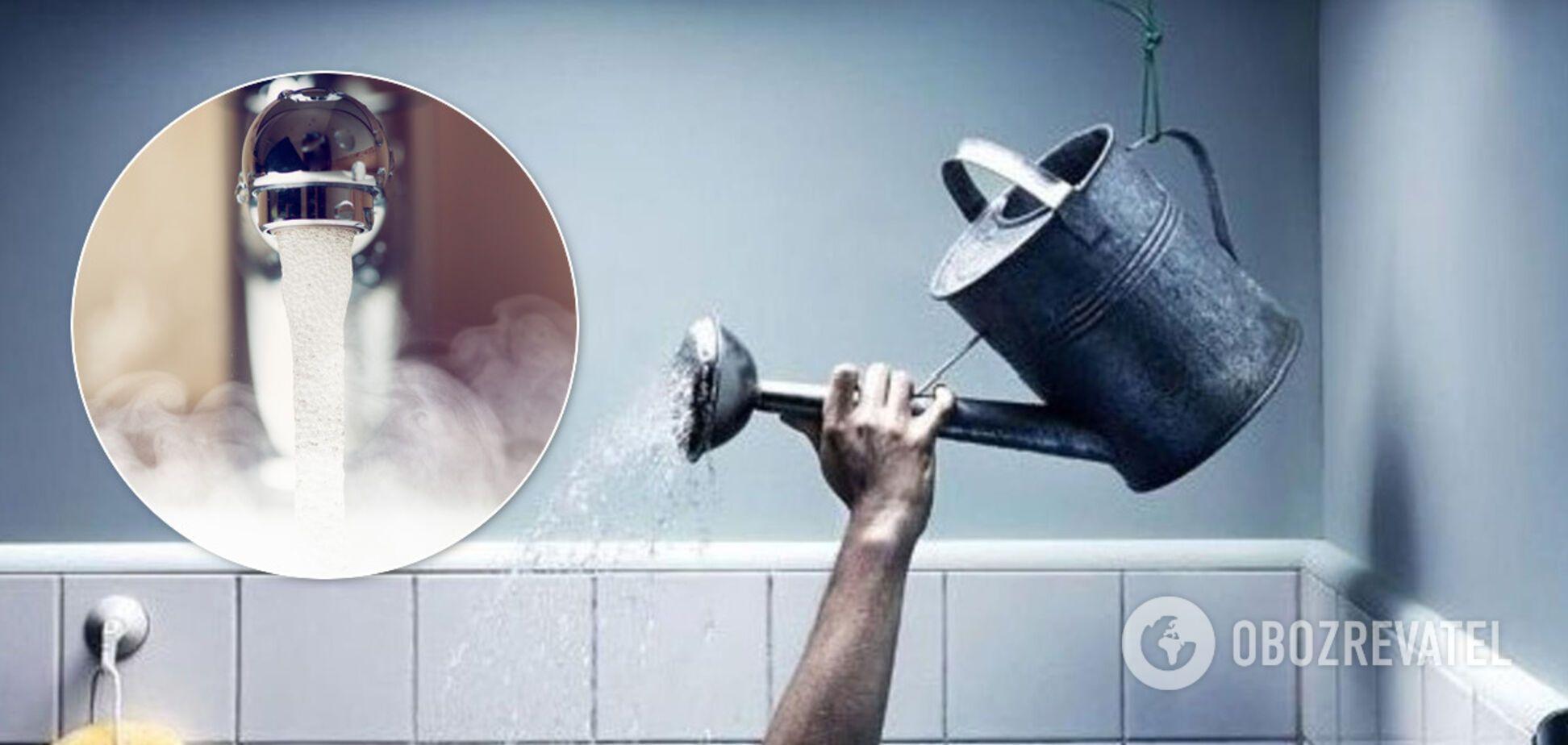 В Киеве начнут массово отключать горячую воду: в КГГА назвали дату