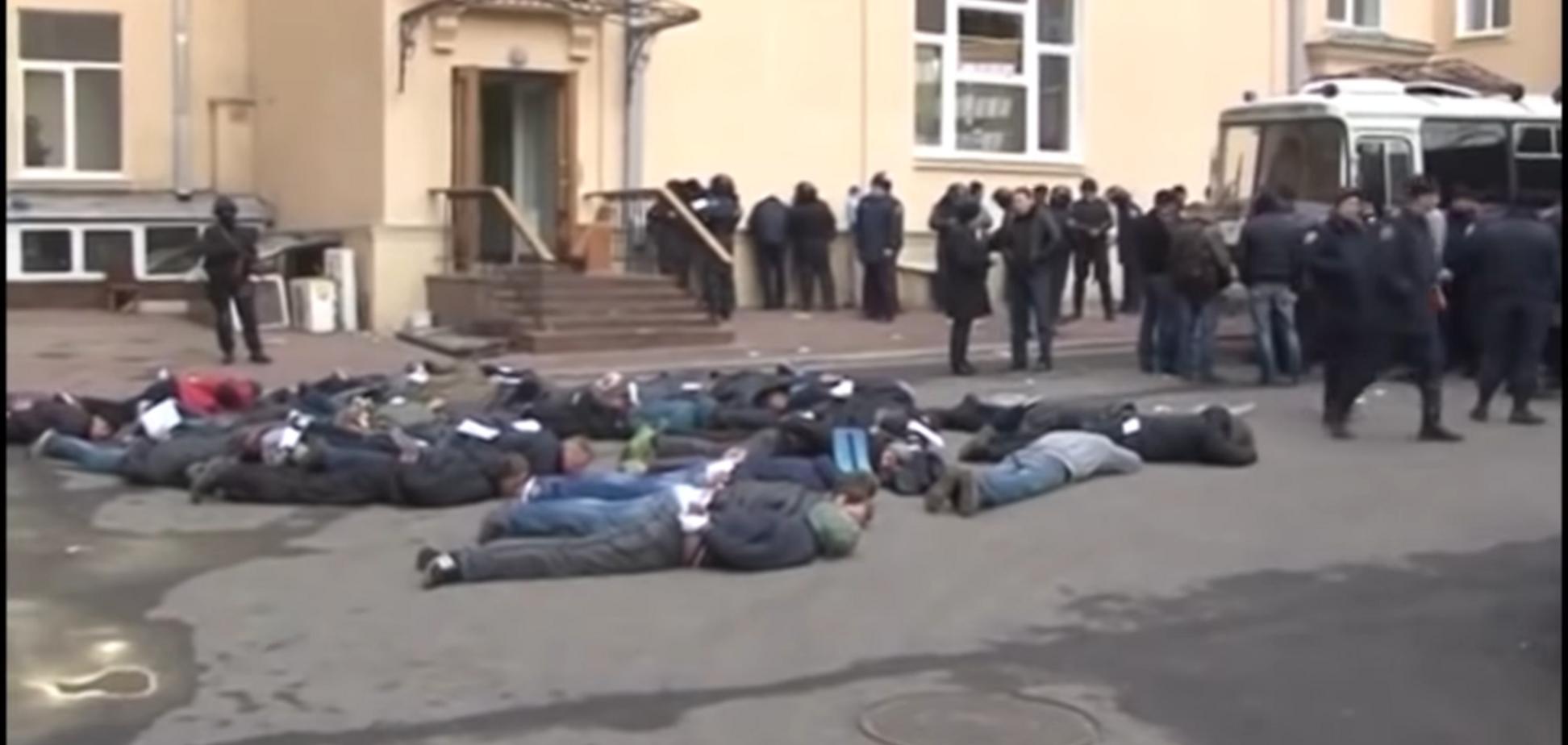 Звільнення Харківської ОДА