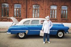 60-річний ГАЗ швидкої допомоги повернули у стрій через коронавірус