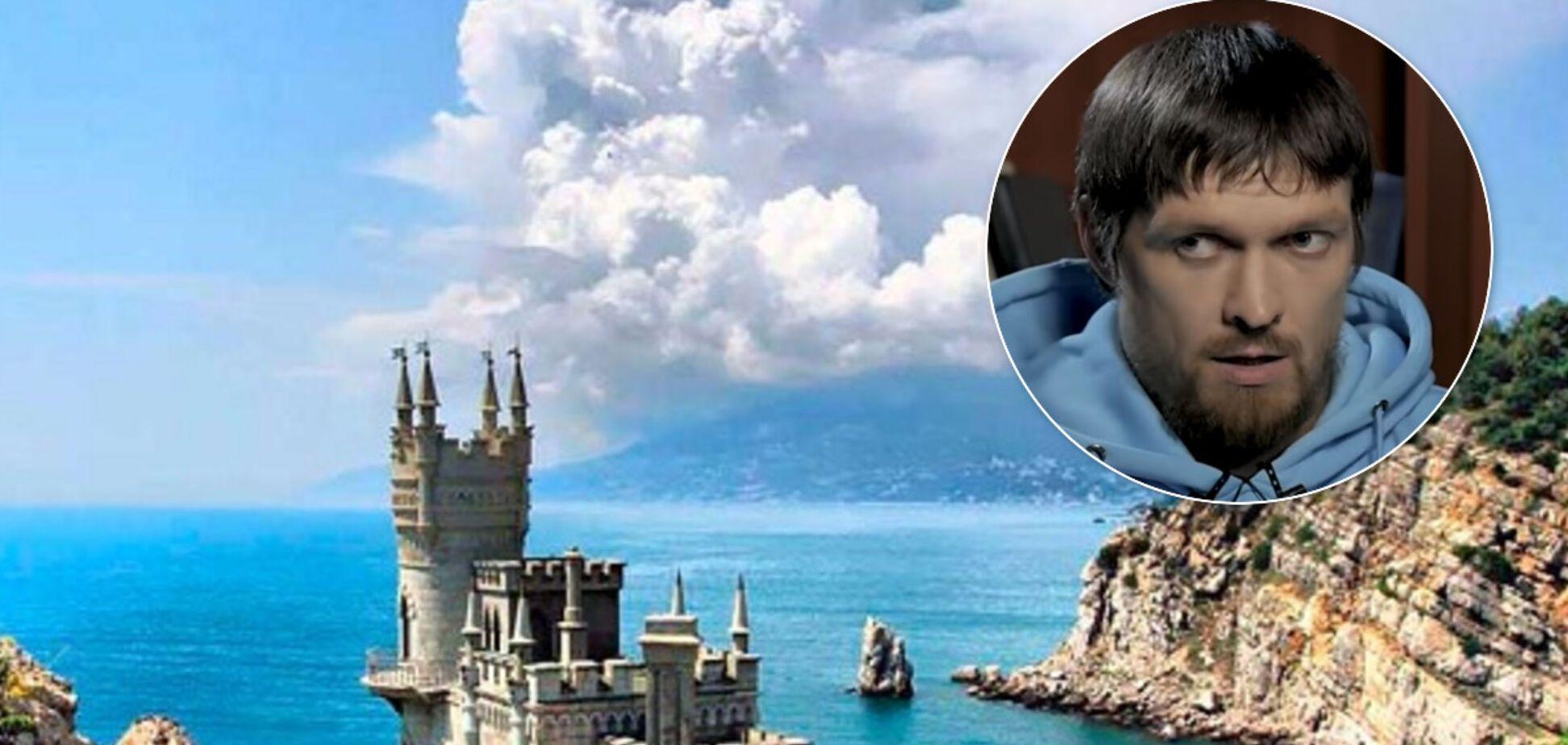 Усик ответил на вопрос, чей Крым
