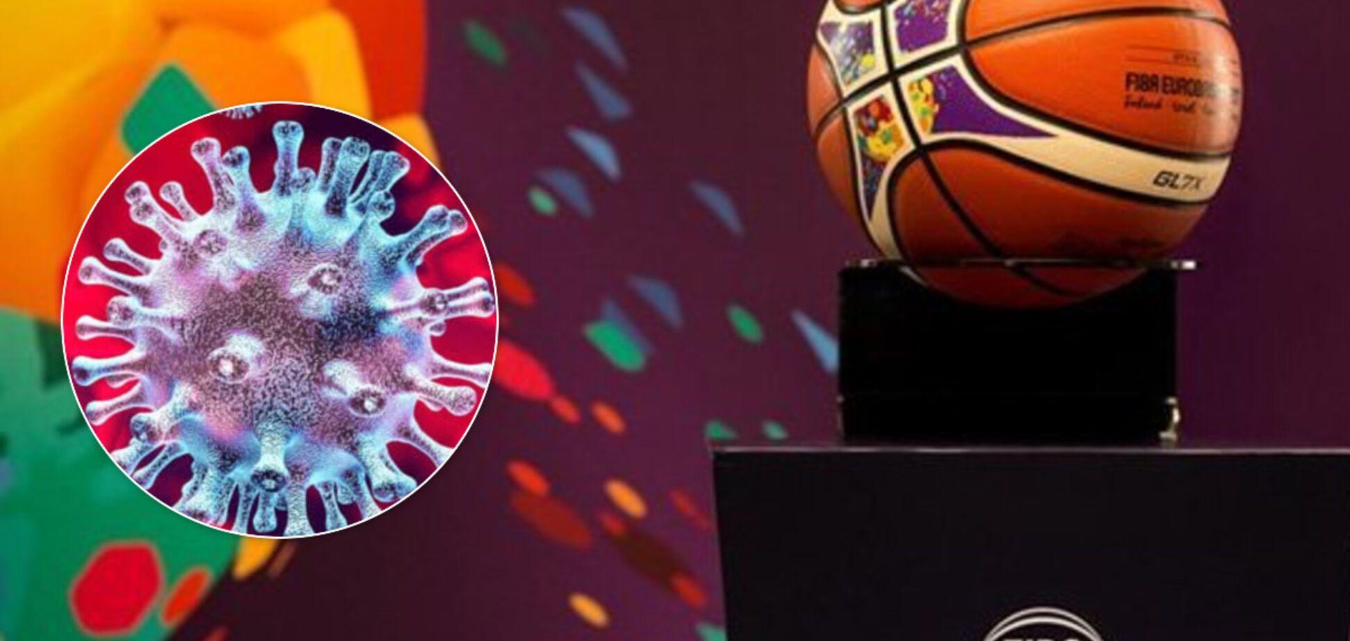 Чемпионат Европы по баскетболу официально отменен из-за коронавируса