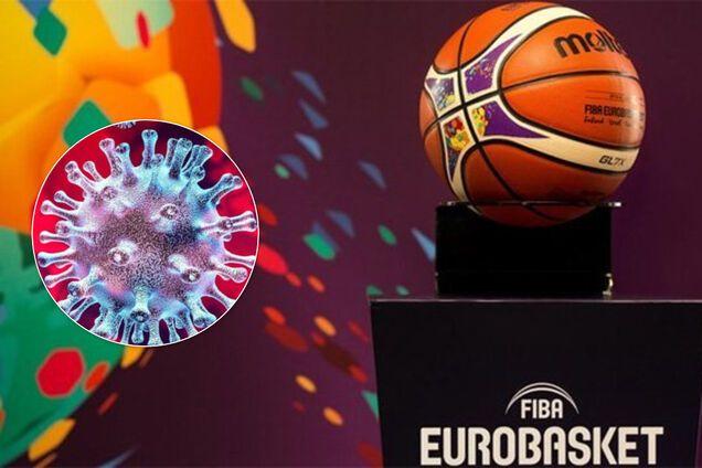 Чемпіонат Європи з баскетболу офіційно скасований через коронавiрус