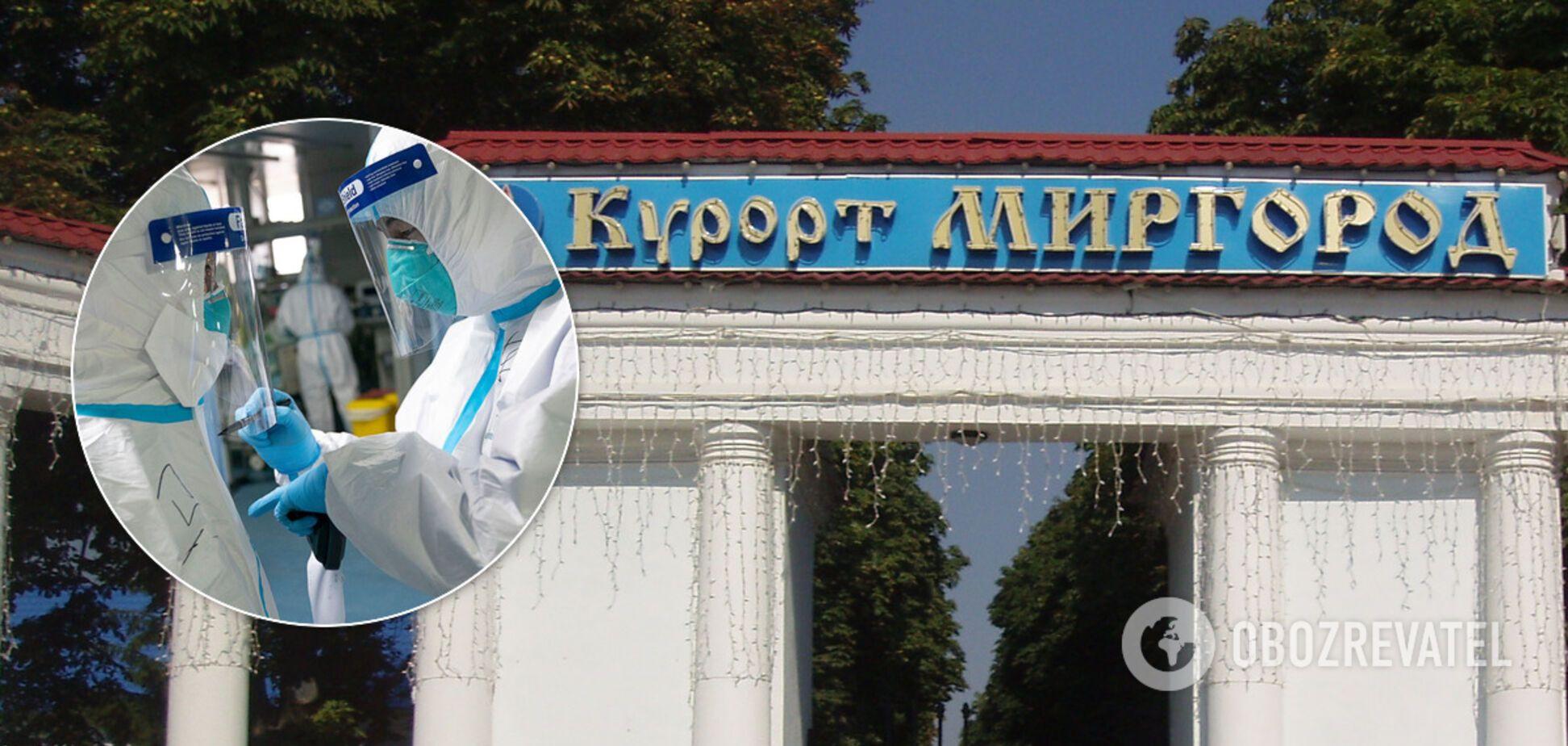 В Миргороде количество зараженных коронавирусом увеличилось вдвое