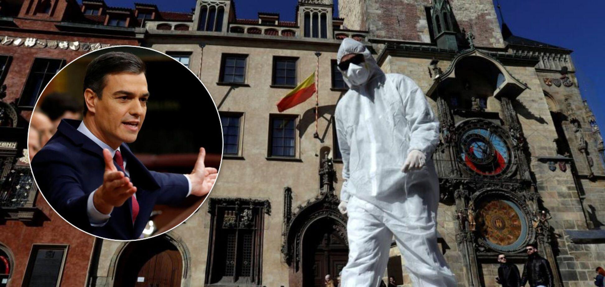 Движется к смягчению карантина: Испания достигла пика распространения COVID-19