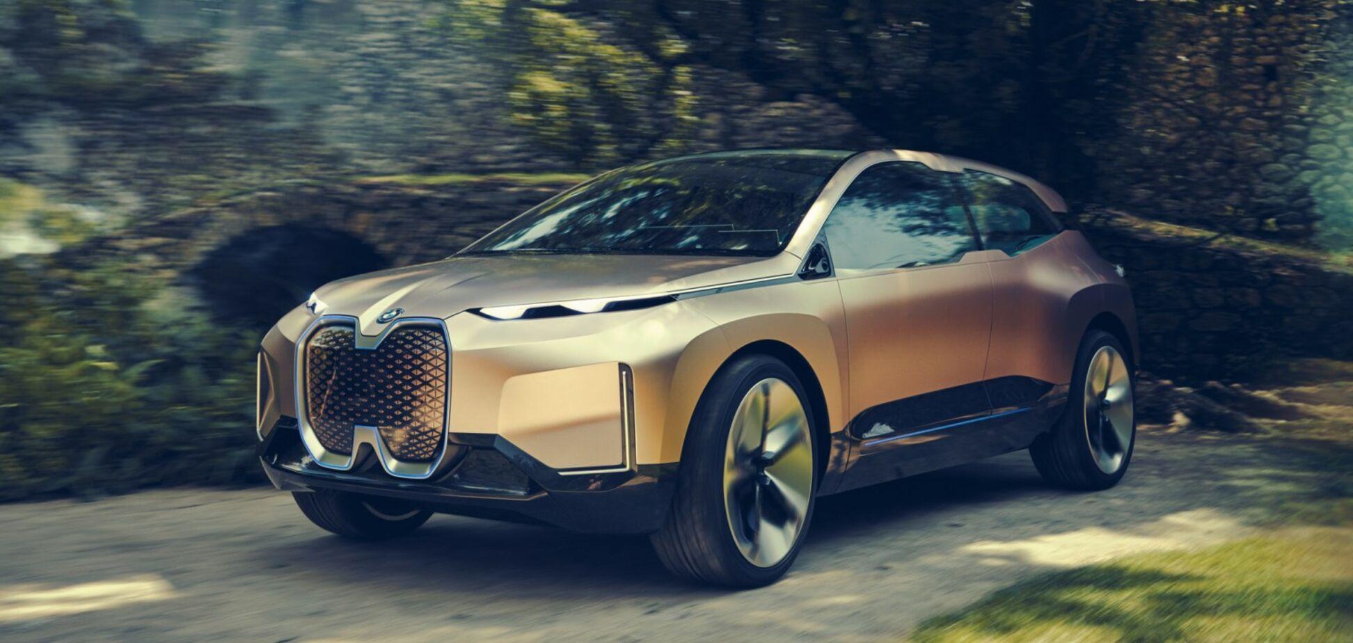 Топовый электрический кроссовер BMW: на одном заряде — 750 км!
