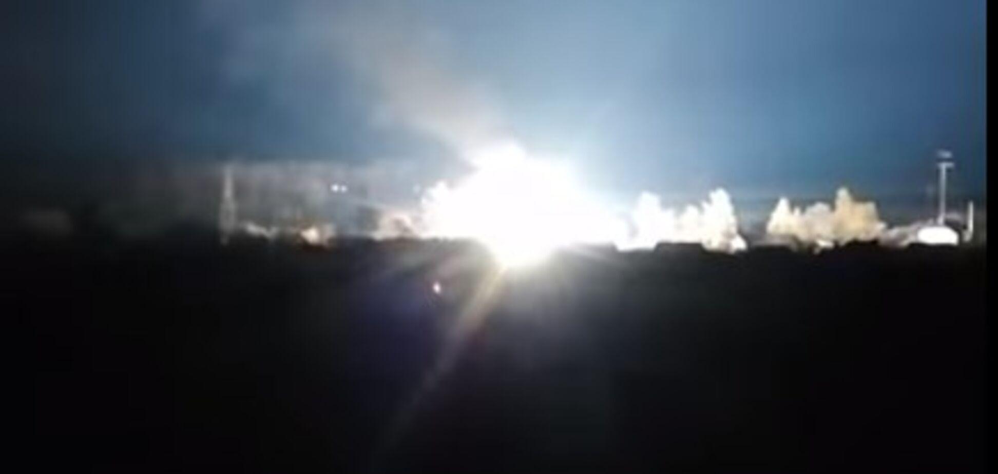 Был взрыв и пожар: под Киевом остался без света целый город