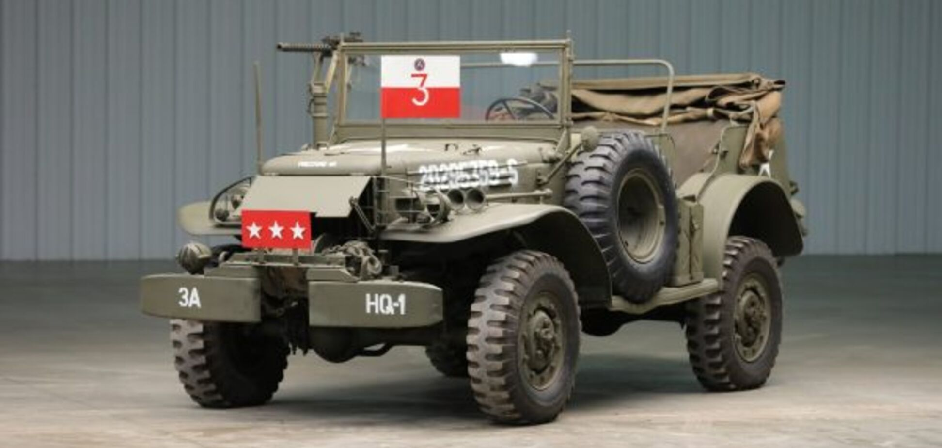Армійський позашляховик генерала Паттона продадуть з аукціону