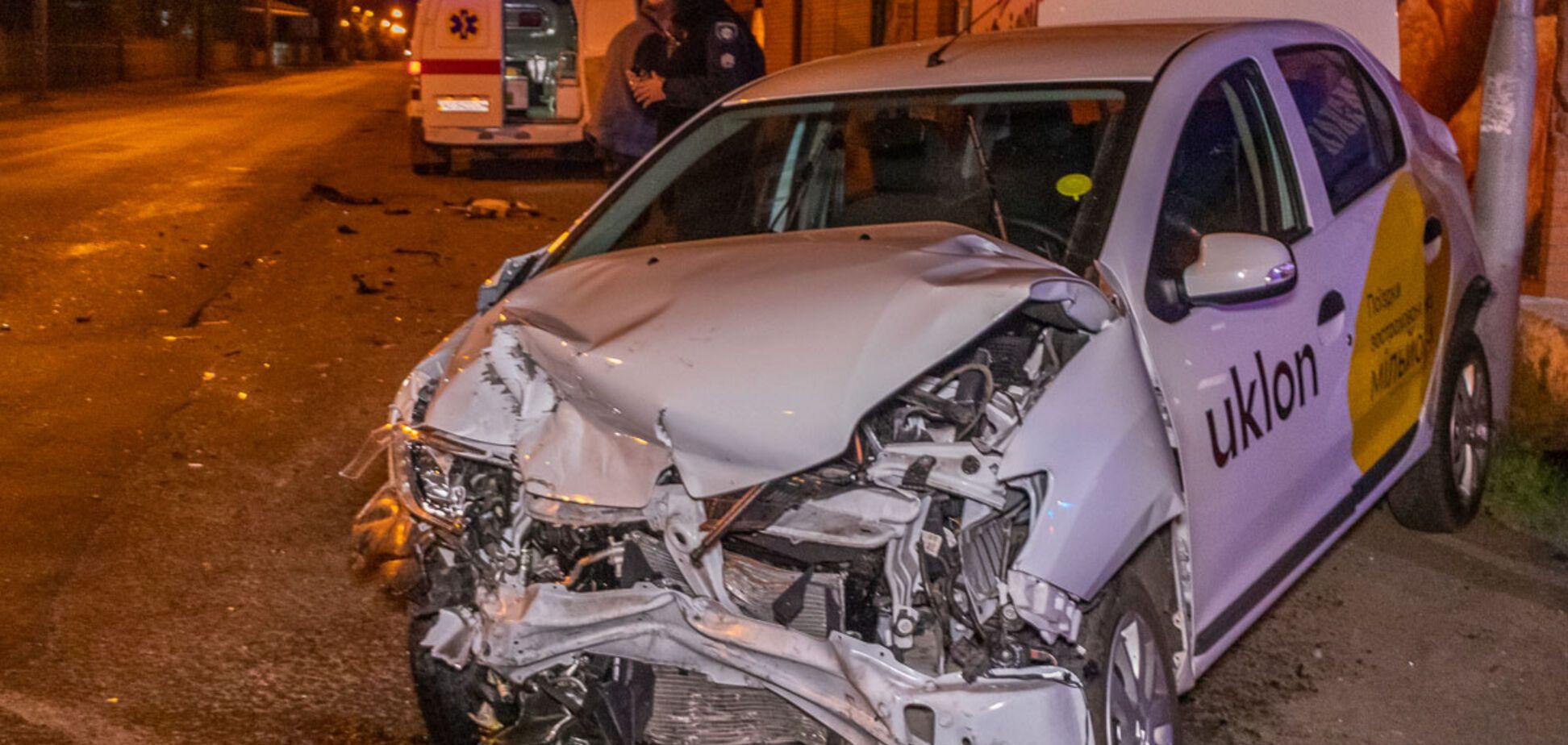 Авария на Образцова в Днепре: пострадали трое человек