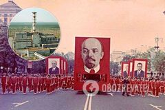 Страшний Першотравень: як влада СРСР зігнала людей на парад після аварії в Чорнобилі. Фото 1986 року