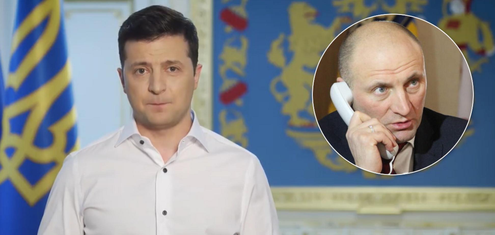 Зеленський пригрозив меру Черкас за дострокове ослаблення карантину. Відео