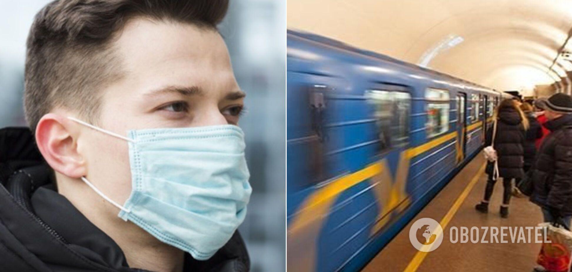 Носити маски в метро та іншому транспорті України доведеться два роки – лікарка