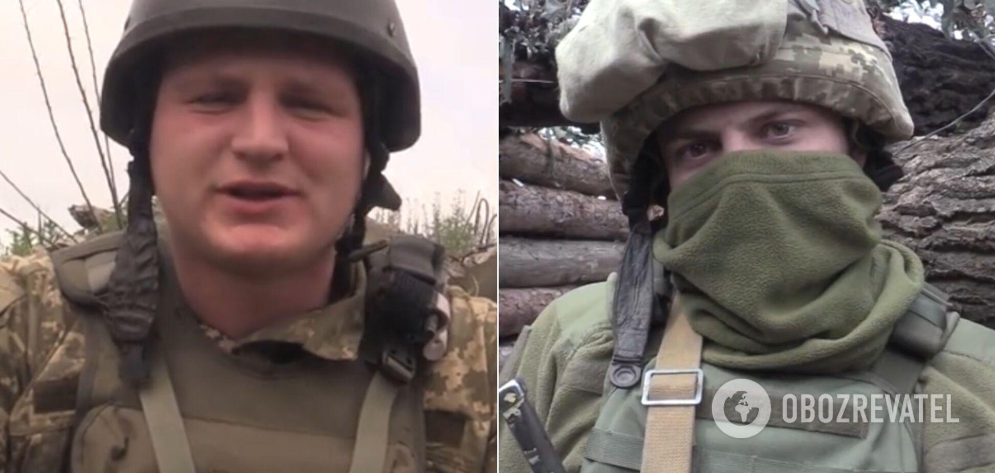Бійці ООС на Донбасі зворушливо привітали своїх матерів. Відео