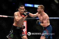 UFC 249: появилось видео сенсационного поражения Фергюсона впервые за восемь лет