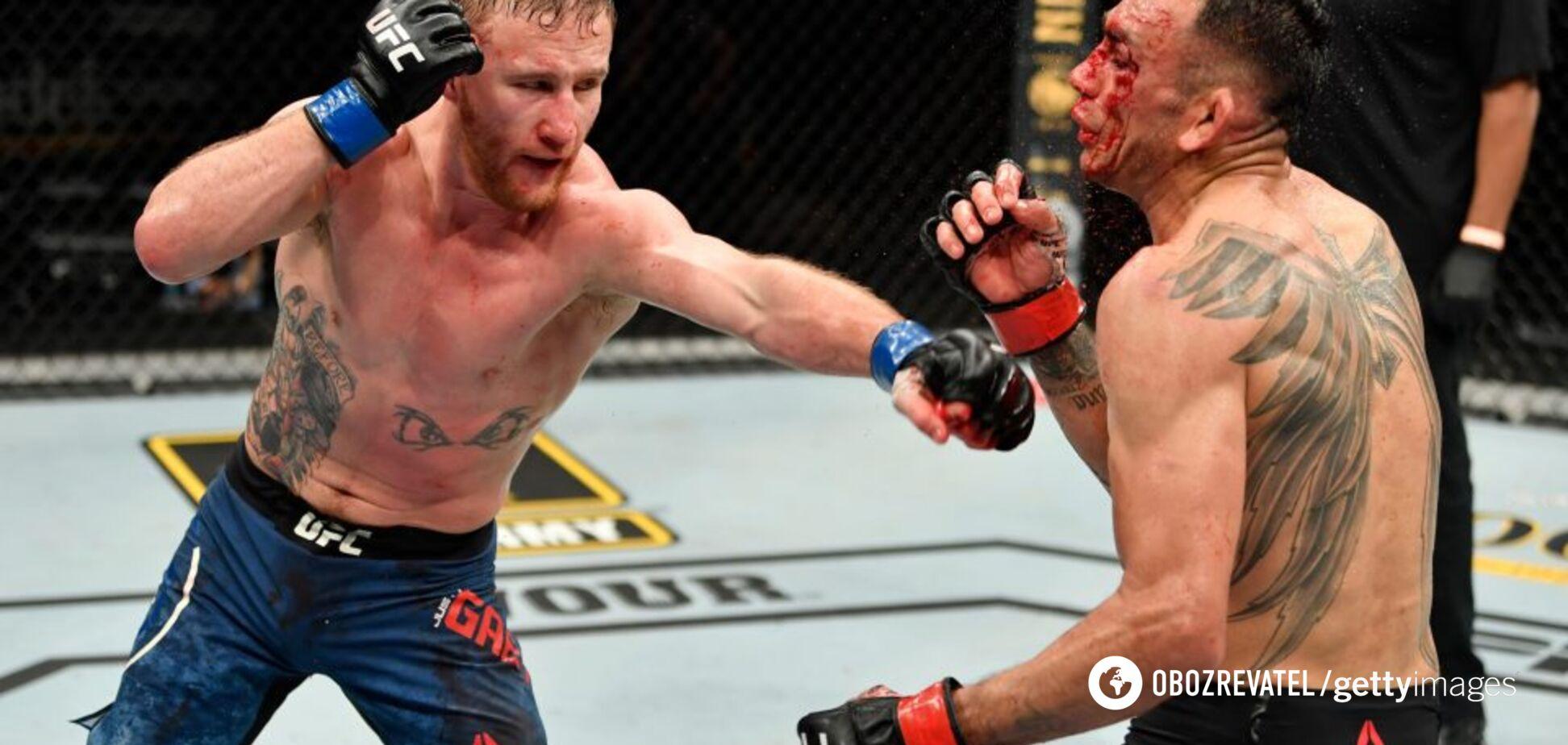 Фергюсон госпіталізований після нокауту від Гетжі на UFC 249