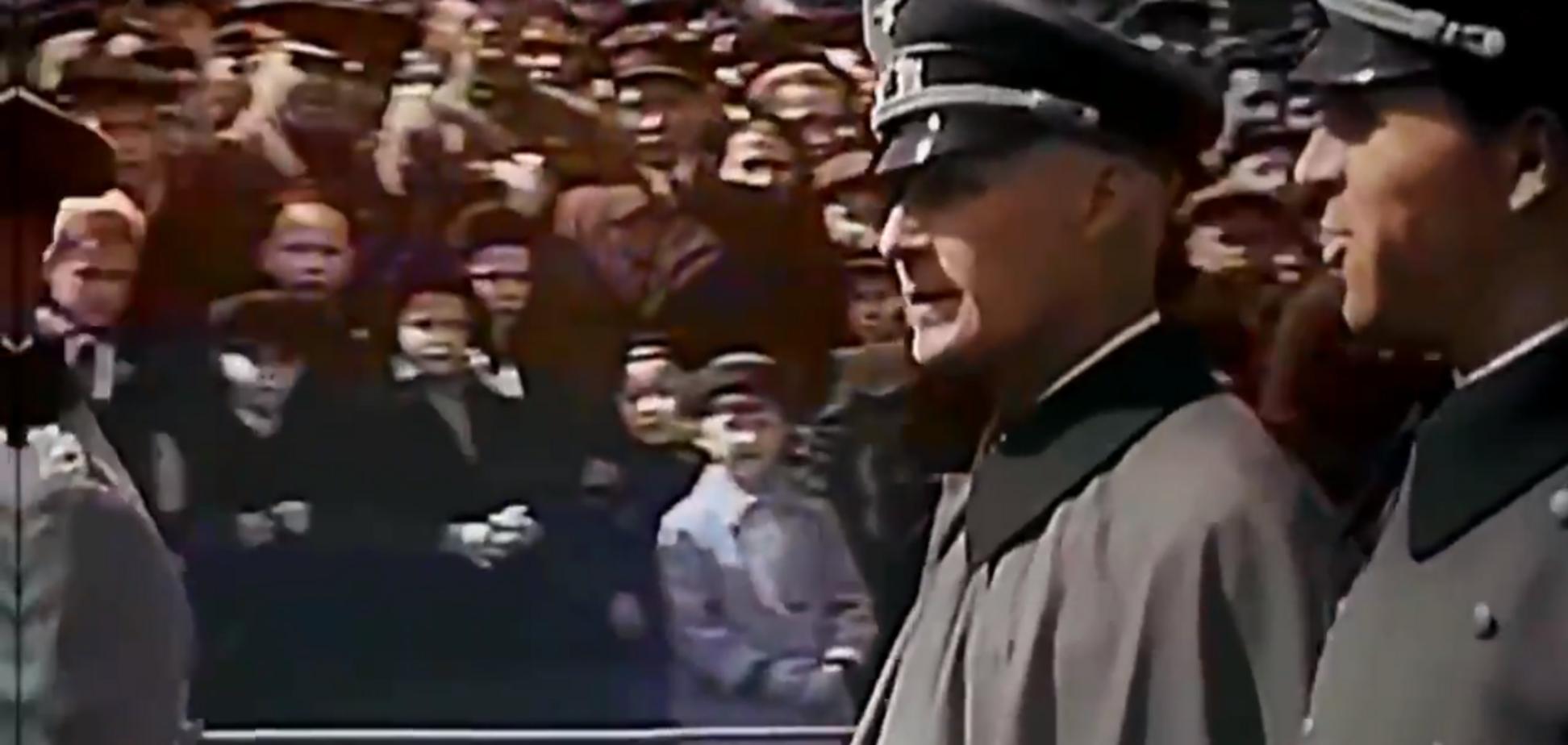 Как союзники Россия и Германия в 1941 году Первомай отмечали