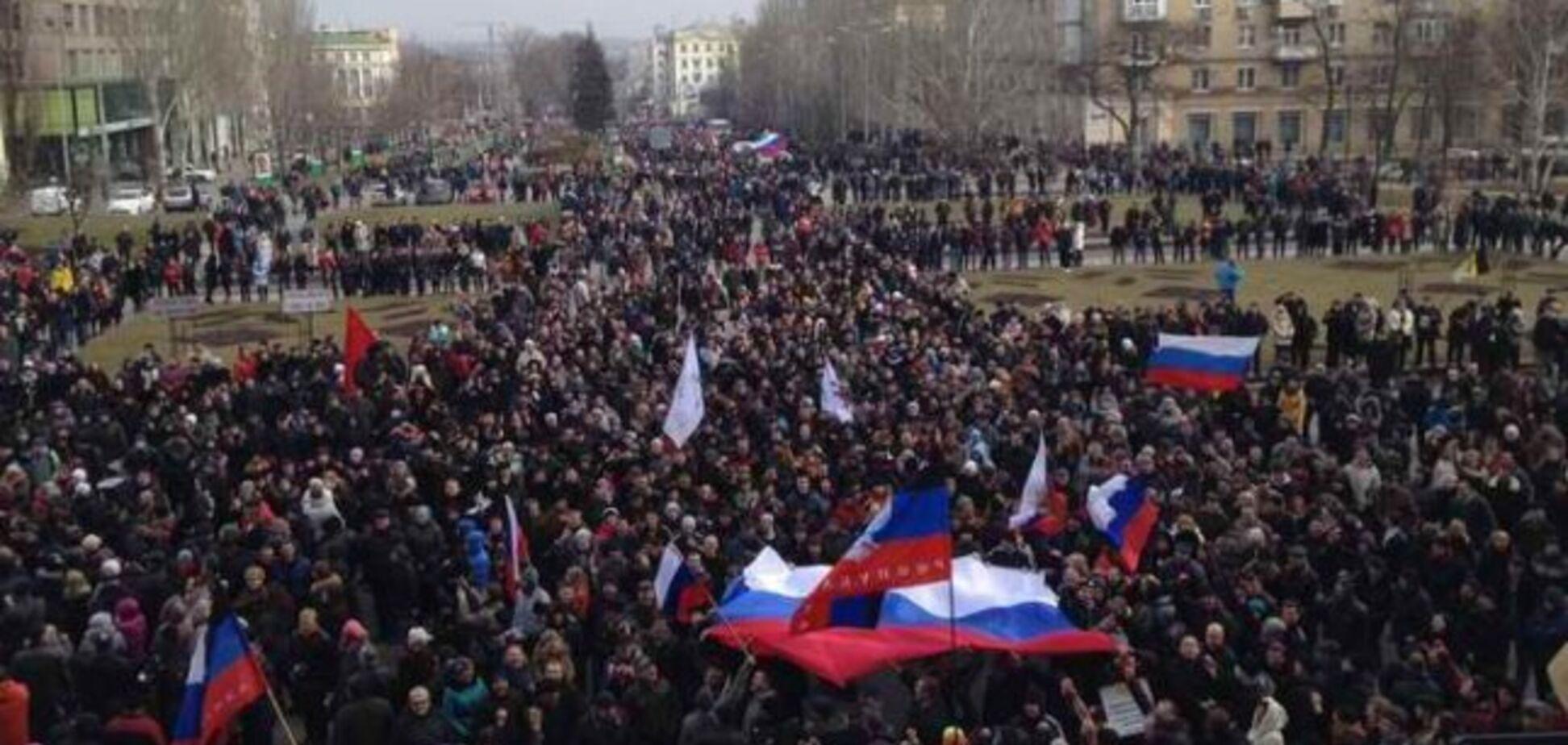 Война на Донбассе началась через полтора месяца после 'восстания'