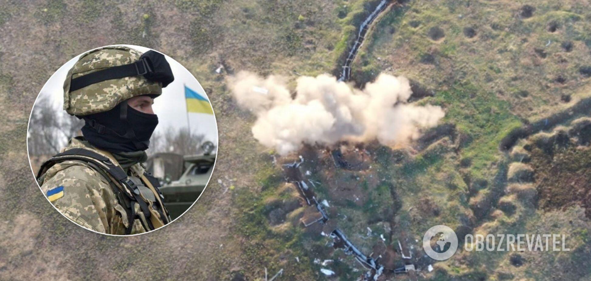 Українські військові знищили позиції ворога на Донбасі, вбиті терористи