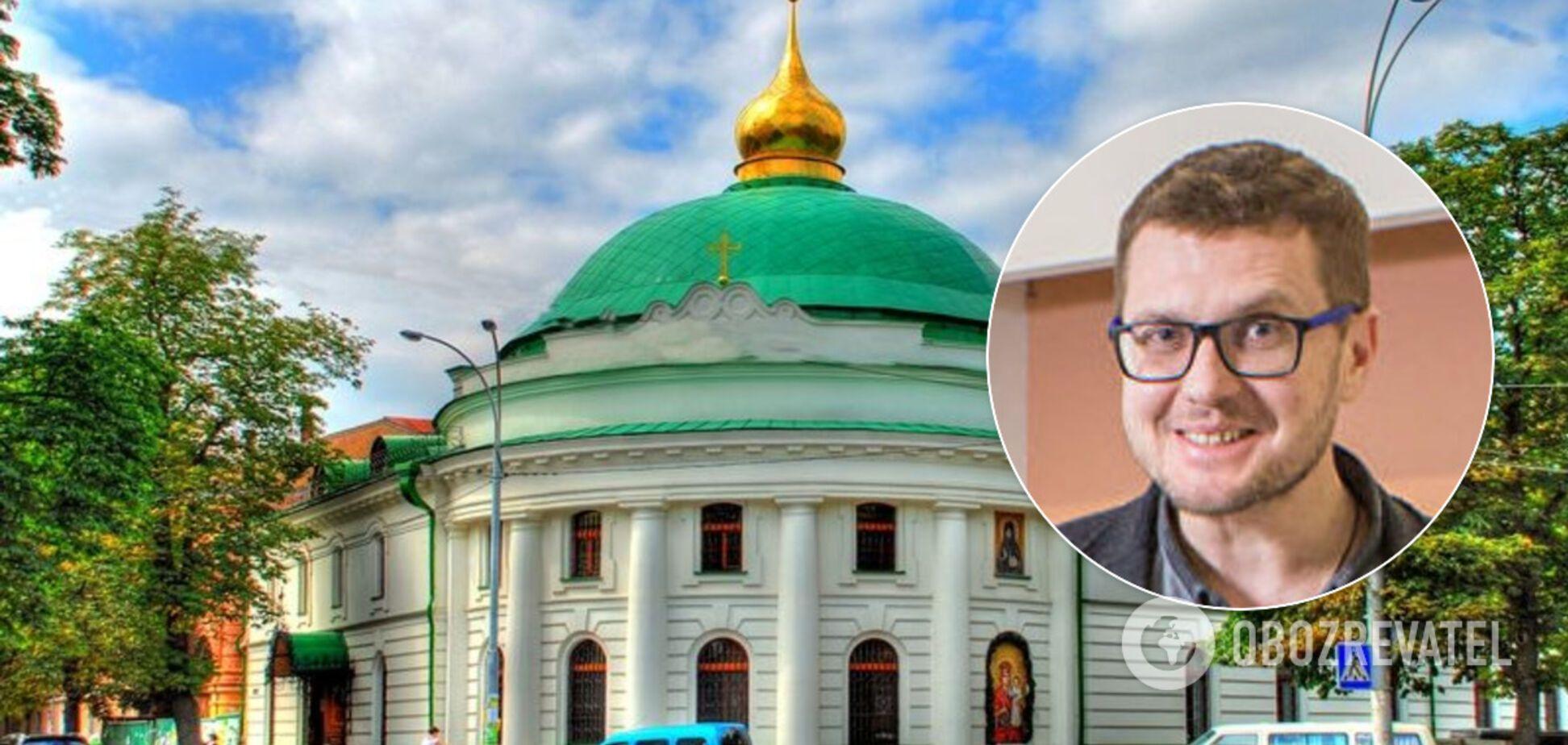 Церковь УПЦ МП, в которую ходит Баканов, угодила в скандал, почтив воинов России