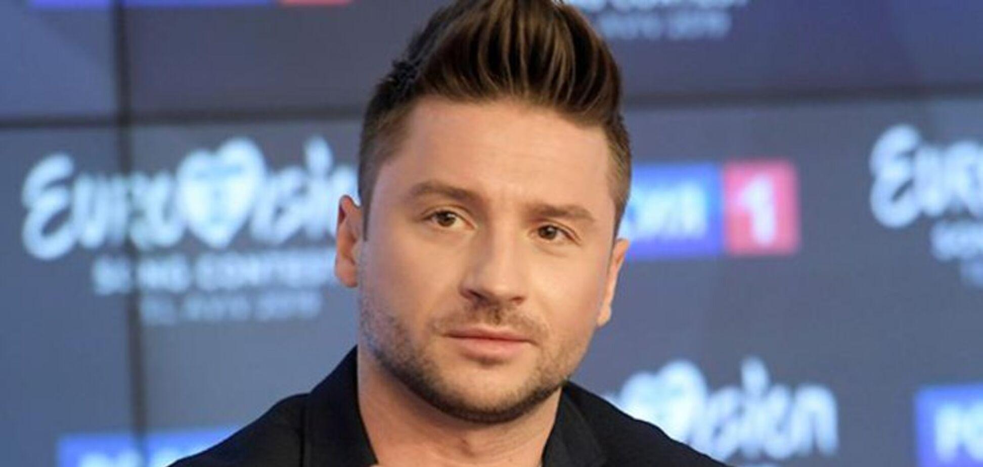 Лазарєв вперше показав травму, яку отримав на Євробаченні