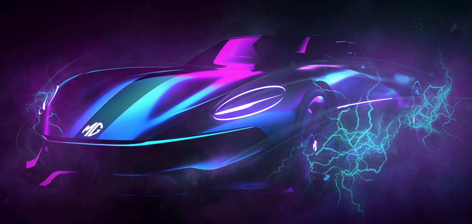 MG готує конкурента Tesla Roadster
