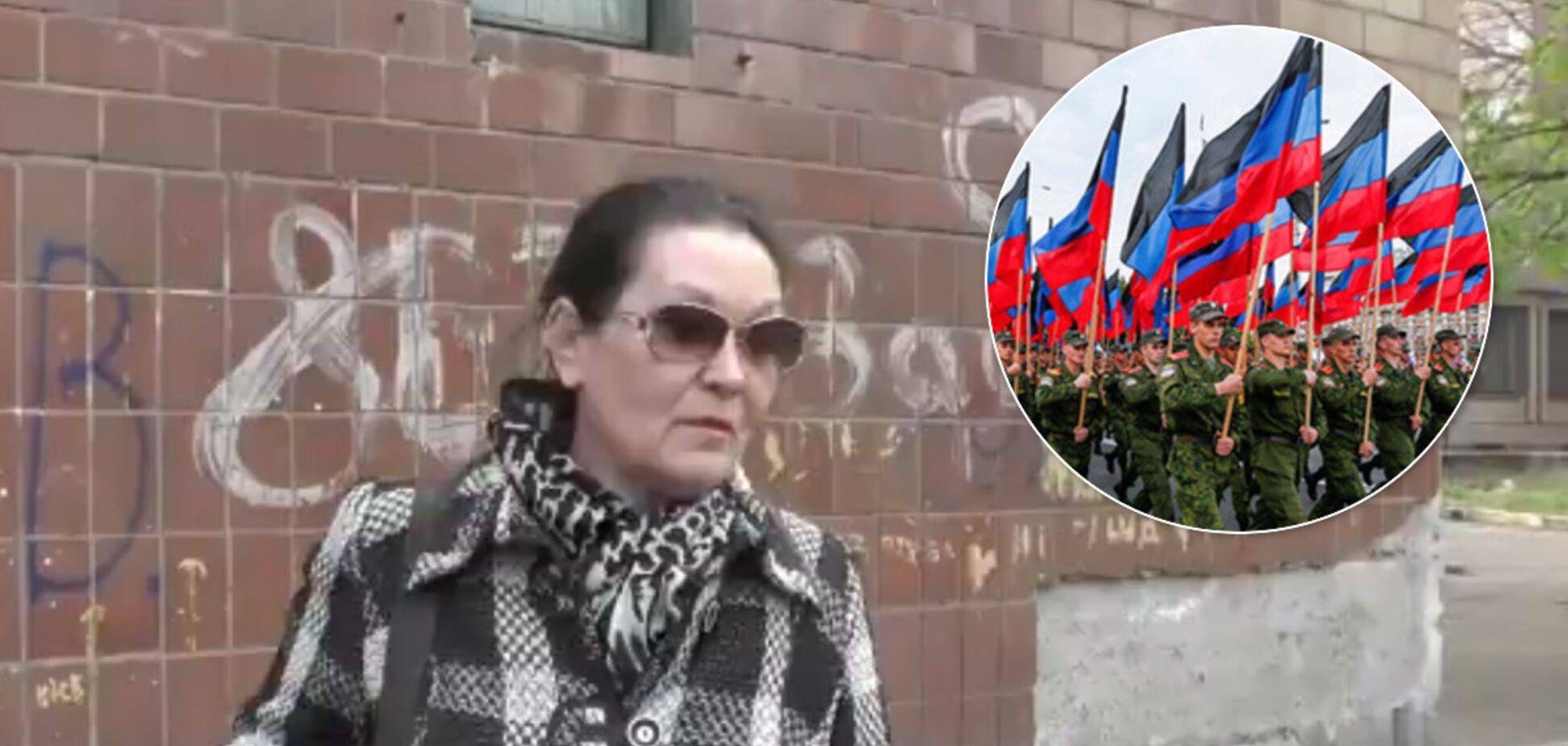 Жительница 'ДНР' рассказала, как оккупанты выгнали их на улицу