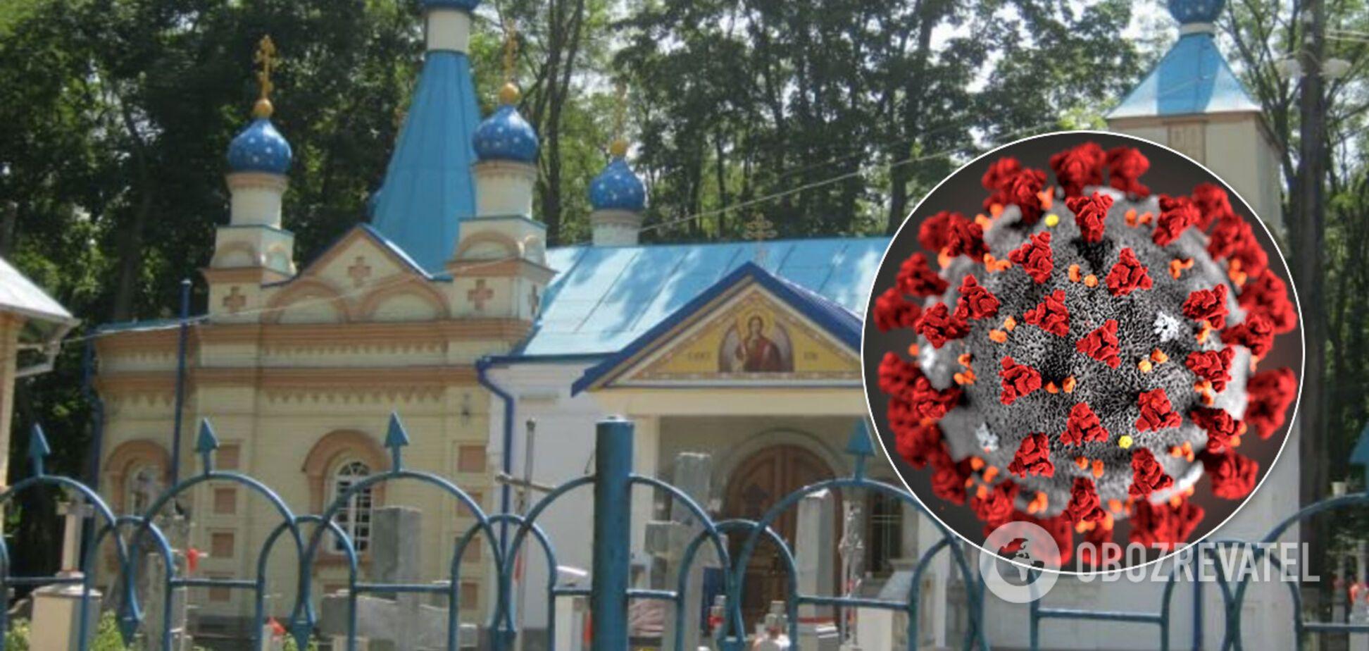 На Волыни случилась смертельная вспышка COVID-19 после посещения церкви УПЦ МП