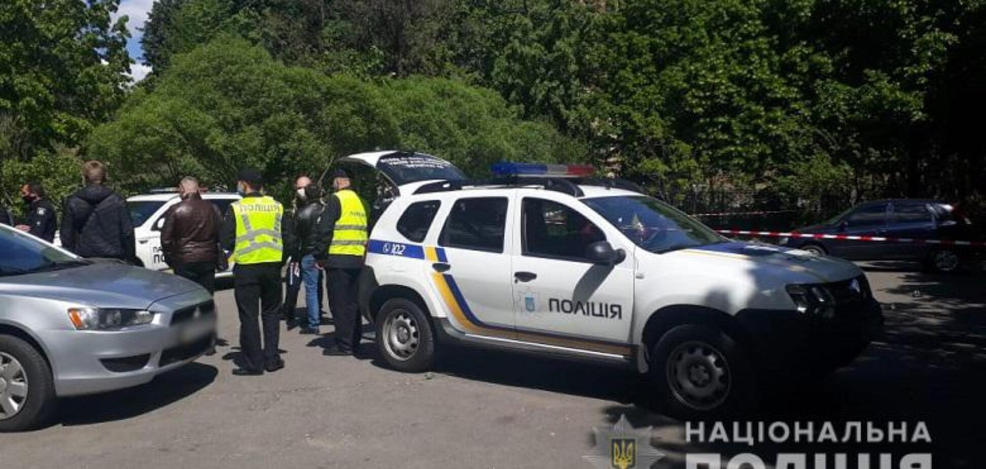 В Киеве среди бела дня произошла стрельба